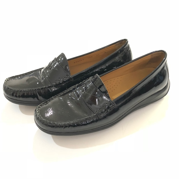 36849f0ddbd Cole Haan Shoes - COLE HAAN NIKE AIR PENNY LOAFERS PATENT BLACK 7.5